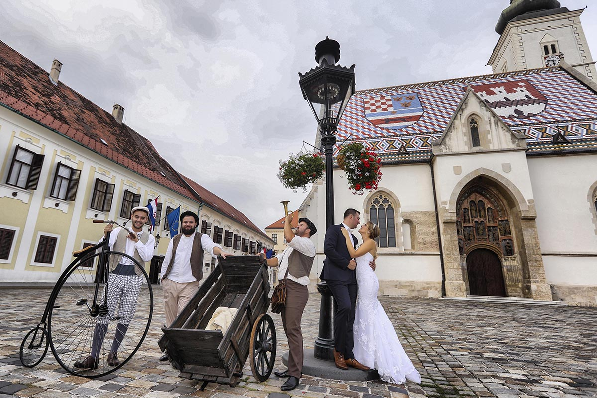 Zagreb wedding